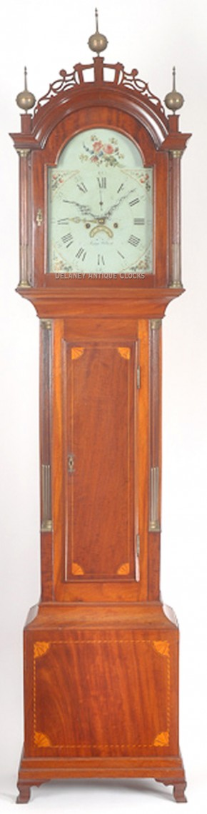 Aaron Willard of Boston, Massachusetts. This tall case clock is fitted with an alarm. 214012