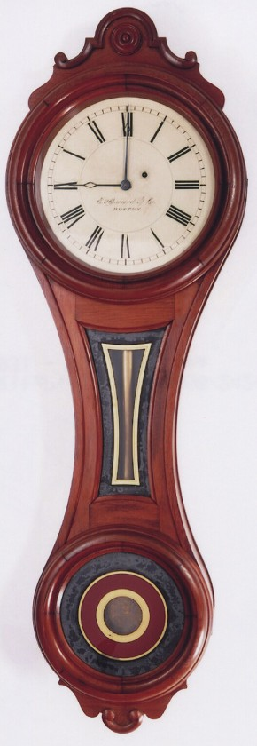 E. Howard & Co. Model No. 7, Figure 8 wall clock.