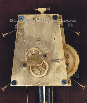 Seth Thomas wall regulator No. 7 weight driven movement.