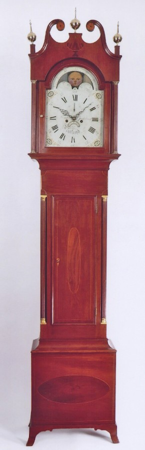 Lord & Goddard Rutland, Vermont. No. 98.  A tall case clock.  -SOLD-