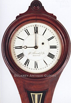 E. Howard & Co., Boston. The Model No. 9 wall clock.