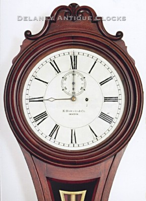 E. Howard & Co. of Boston, Massachusetts. The Model No. 6 dial.
