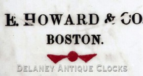E. Howard Clock Co. Boston.  Model No. 21.