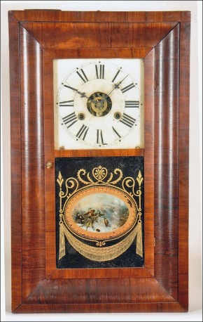 William L. Gilbert Clock Company of Winsted, Connecticut.  An OG or Ogee clock. -SOLD-