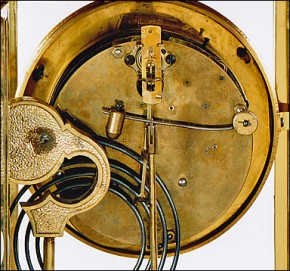 "The ""Tunis"" by the William Gilbert Clock Company of Winsted, CT. Movement"