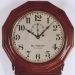"Ball Watch Company of Cleveland, Ohio.  ""REGULATOR No. 3""  Wall clock. -SOLD-"