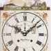 Elmer Stennes of Weymouth, Mass. A rocking ship tall case clock. 3/4 size. Dial.