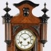 Delaney Antique Clocks.  A diminutive Vienna Regulator made by Lenzkirch circa 1895.