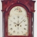 Albany region of New York.  An unsigned tall case clock.