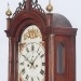 An unsigned South Eastern Massachusetts tall case clock hood side.