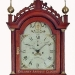 Ezra Batchelder of Danvers, Massachusetts. A Massachusetts tall case clock in butternut. OO8.
