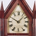 "Brewster & Ingrahams of Bristol, Connecticut. US. A 30-hour Steeple or Sharp Gothic mantel Clock.  ""Thin case"" model."