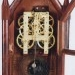 Brewster & Ingrahams of Bristol, CT.  8-day Steeple mantel Clock. Movement