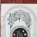 Brewster & Ingrahams of Bristol, CT. Steeple mantel Clock.  Fenn tablet
