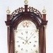 A fine country case tall clock made by Benjamin Swan. Clockmaker, watchmaker & jeweler of Hallowell and Augusta, Maine. (UU-35)