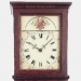 This is an important tall case clock having a wooden geared movement made by Joseph Ives in Bristol, Connecticut.